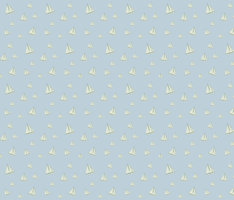 boats_1 fabric by sovendebjorn on Spoonflower - custom fabric