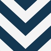 Large scale Navy and White Chevron