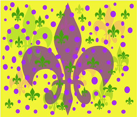 mardigrasdot fabric by beaulle on Spoonflower - custom fabric