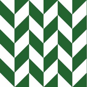 Green-White_Herringbone