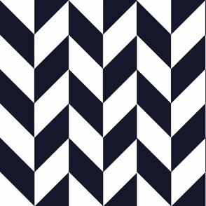 Navy-White_Herringbone