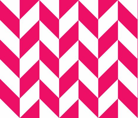 Pink-White_Herringbone fabric by megankaydesign on Spoonflower - custom fabric