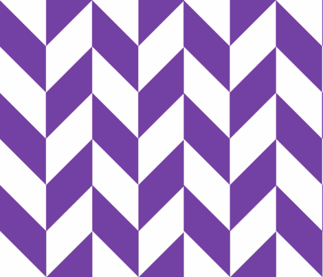 Purple-White_Herringbone fabric by gates_and_gables on Spoonflower - custom fabric