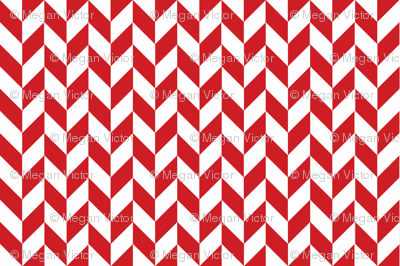 Red-White_Herringbone