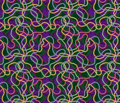 MardiGrasBeads fabric by melhales on Spoonflower - custom fabric