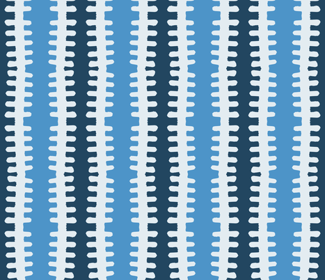 White Fence Vertical fabric by susaninparis on Spoonflower - custom fabric