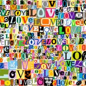 Letters of L-O-V-E