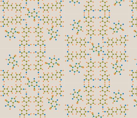 wine_chocolate_tan fabric by alicefukushima on Spoonflower - custom fabric
