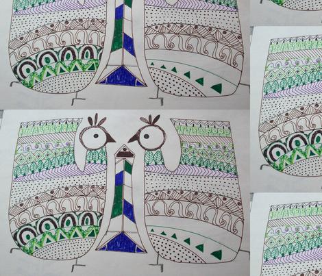 tribal_art fabric by rachana on Spoonflower - custom fabric