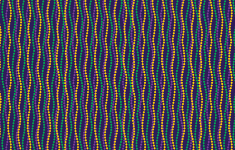 Time to Party Gras! fabric by mariafaithgarcia on Spoonflower - custom fabric