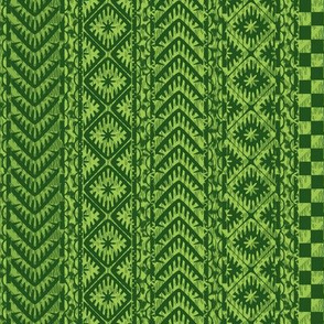 african_stripes-green