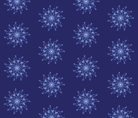 Eleven Star fabric by cs_nyc on Spoonflower - custom fabric