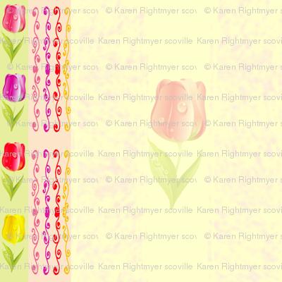 tulip stripes