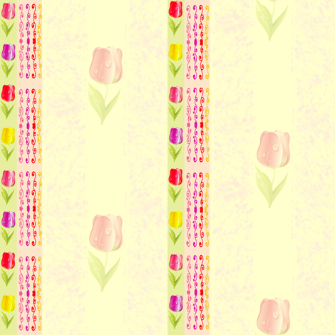 tulip stripes fabric by krs_expressions on Spoonflower - custom fabric