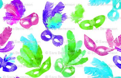 Mardi Gras Masquerade Jewel
