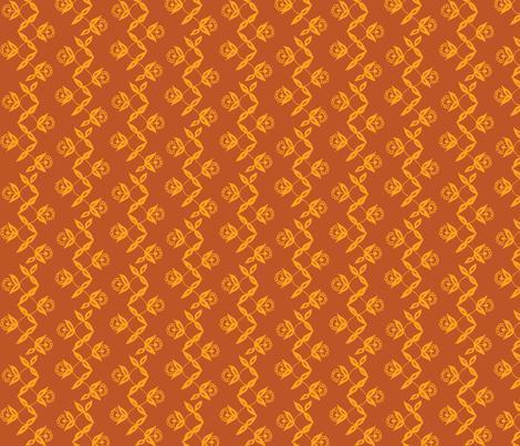 Turmeric Vine fabric by hazelrose on Spoonflower - custom fabric