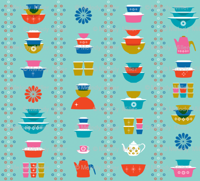 happy dishes wallpaper