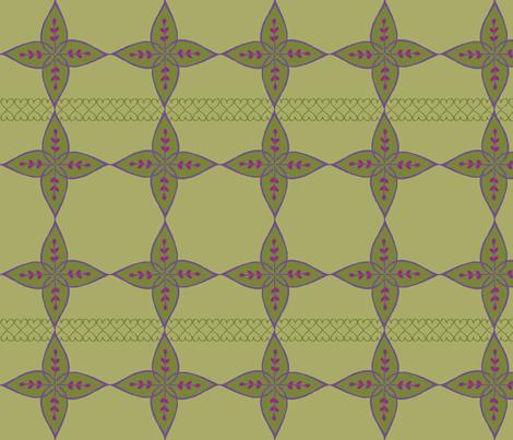 Henna Agave fabric by joyfulroots on Spoonflower - custom fabric