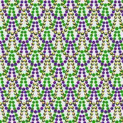 Tiny Mardi Gras Beads