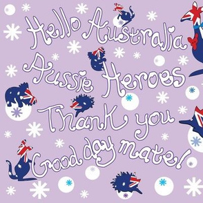 Hello Australia Aussie Heroes 2