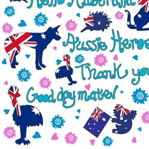 Aussie-Heroes Thank you