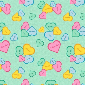 Valentines - green