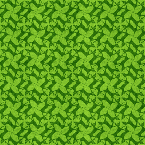grass doxies fabric by glimmericks on Spoonflower - custom fabric