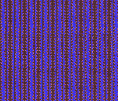 Zig Zag Stripe Overlap fabric by joybea on Spoonflower - custom fabric