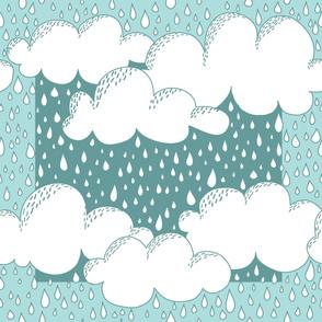 Vancouver Rain Scarf