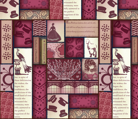 emma's study fabric by motyka on Spoonflower - custom fabric