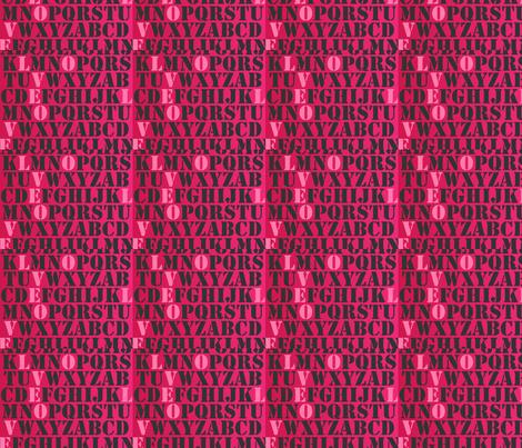love_stencil fabric by bavuchaz on Spoonflower - custom fabric