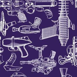 Ray Gun Revival (Dark Purple) (8x8)