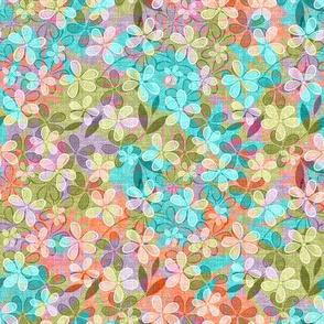 Vintage Floral Meadow