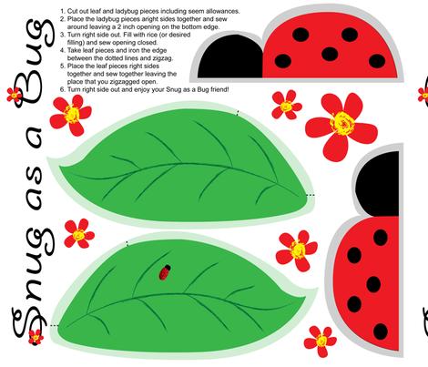 snug-as-a-bug fabric by hmooreart on Spoonflower - custom fabric