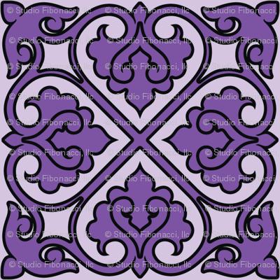 Victorian Ornament (purple)