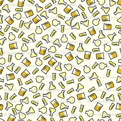Ditsy Chemistry - Yellow