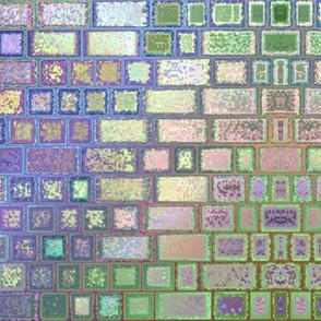 Spring Colors Mosaic © Gingezel™ 2013