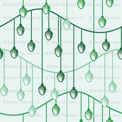 Holiday Lights (green)