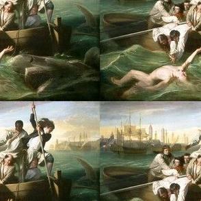 Watson and the Shark - J.S. Copley  (1778)
