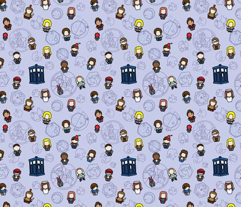 New Companions fabric by studiofibonacci on Spoonflower - custom fabric