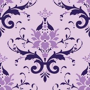 Victorian Flourish (violet)
