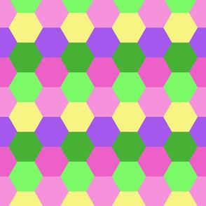 Hexagon Cheater Quilt