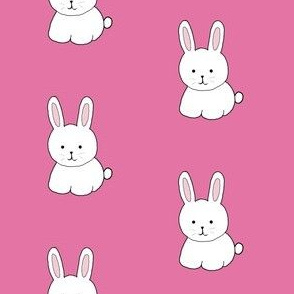 Cottontail in Pink