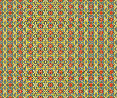 Little House in the Jungle fabric by flyingfish on Spoonflower - custom fabric