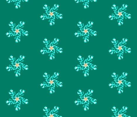 Sea flower fabric by cs_nyc on Spoonflower - custom fabric