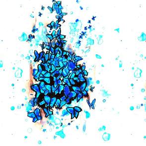 Watercolor Butterfly-ed