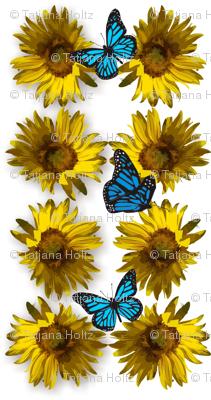 sunflower_2_with_butterflies