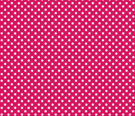 dots magenta fabric by katarina on Spoonflower - custom fabric