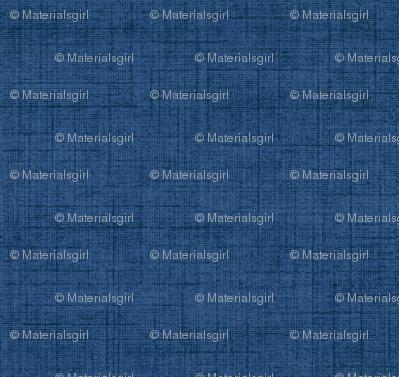 Linen - midnight blue, stonewashed woven threads