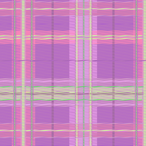 plaid_orchid fabric by glimmericks on Spoonflower - custom fabric